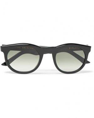 Солнечные очки KIRK ORIGINALS. Цвет: черный
