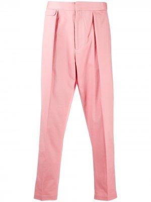 Прямые брюки EQUIPMENT GENDER FLUID. Цвет: розовый