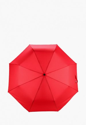 Зонт складной Lamoda. Цвет: красный
