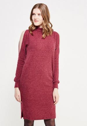 Платье Sitlly. Цвет: бордовый