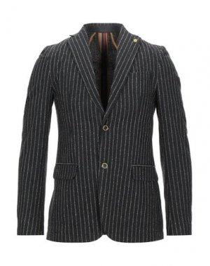 Пиджак SSEINSE. Цвет: свинцово-серый