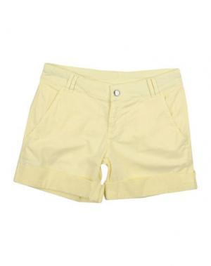 Повседневные шорты J BE. Цвет: светло-желтый