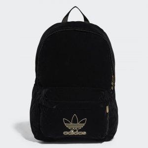 Рюкзак Adicolor Velvet Originals adidas. Цвет: черный