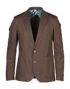 Пиджак NEILL KATTER. Цвет: хаки