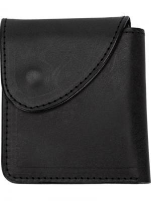 Складной бумажник Hender Scheme. Цвет: чёрный