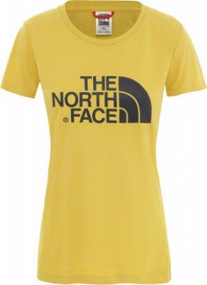 Футболка женская Easy, размер 48-50 The North Face. Цвет: желтый