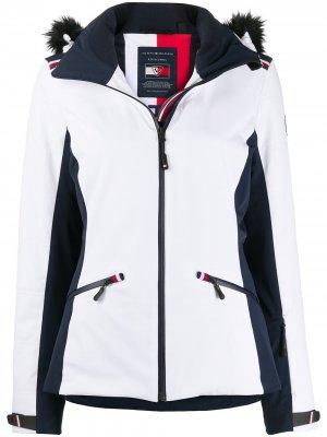 Лыжная куртка Rossignol Tommy Hilfiger. Цвет: белый