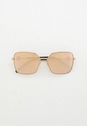 Очки солнцезащитные Versace VE2227 14105A. Цвет: золотой