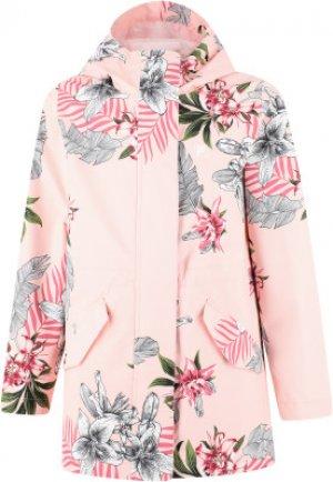 Ветровка для девочек , размер 140 FILA. Цвет: розовый
