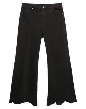 Джинсовые брюки DIXIE. Цвет: черный