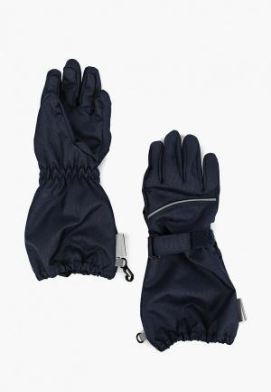 Перчатки Lassie. Цвет: синий
