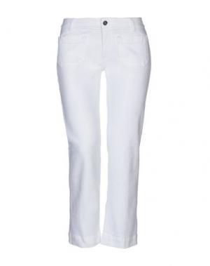 Джинсовые брюки-капри THE SEAFARER. Цвет: белый