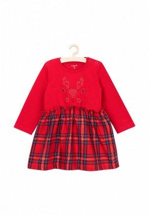 Платье 5.10.15. Цвет: красный