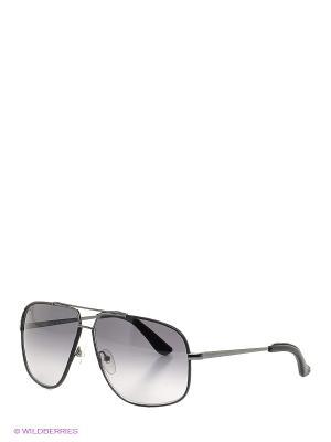 Очки солнцезащитные SF 105SL 037 Salvatore Ferragamo. Цвет: черный