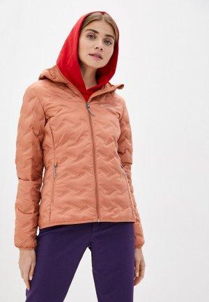 Пуховик Columbia Delta Ridge™ Down Hooded Jacket. Цвет: розовый