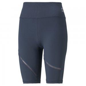 Шорты Exhale Mesh Curve Womens Training Bike Shorts PUMA. Цвет: синий