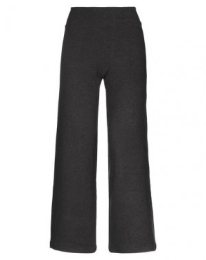 Повседневные брюки MAMA B.. Цвет: стальной серый