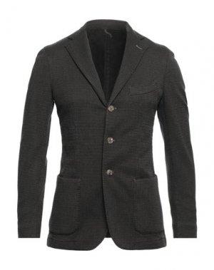 Пиджак SANTANIELLO. Цвет: хаки