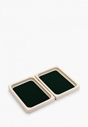 Шкатулка для украшений Мастер Рио 14,7х10,7х3,7 см. Цвет: бежевый
