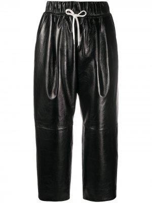 Брюки прямого кроя Givenchy. Цвет: черный