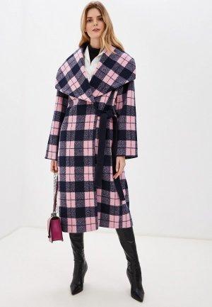 Пальто Kata Binska PANI. Цвет: розовый