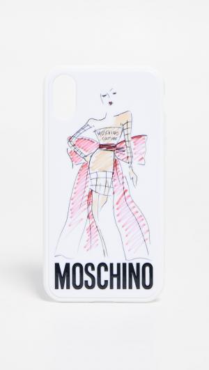 IPhone XS / X Case Moschino