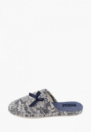Тапочки De Fonseca. Цвет: серый