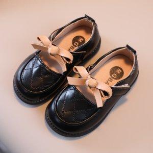 Для девочек Туфли мэри джейн стеганый тиснением SHEIN. Цвет: чёрный