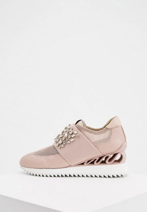 Кроссовки Le Silla. Цвет: розовый