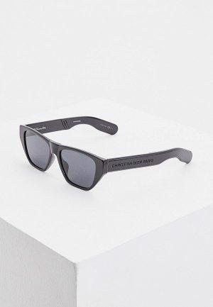 Очки солнцезащитные Christian Dior DIORINSIDEOUT2 807. Цвет: черный