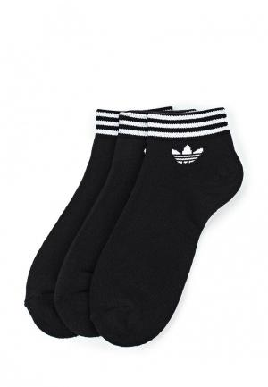 Комплект adidas Originals TREFOIL ANK STR. Цвет: черный