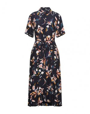 Платье миди FRENCH CONNECTION. Цвет: темно-синий