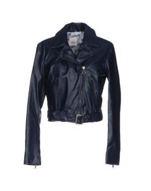 Куртка MAISON ESPIN. Цвет: темно-синий