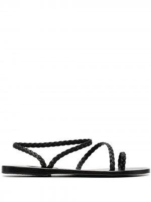 Сандалии Elefhteria Ancient Greek Sandals. Цвет: черный