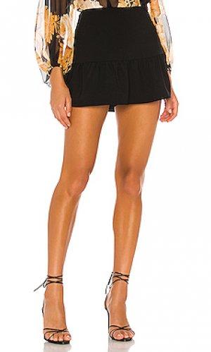 Юбка-шорты gabbie Amanda Uprichard. Цвет: черный