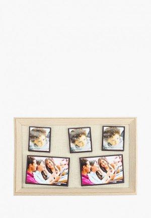 Фоторамка Русские подарки. Цвет: бежевый