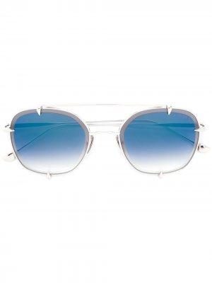 Солнцезащитные очки Talon Two Dita Eyewear. Цвет: золотистый