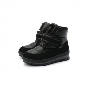 Текстильные ботинки Jog Dog. Цвет: чёрный