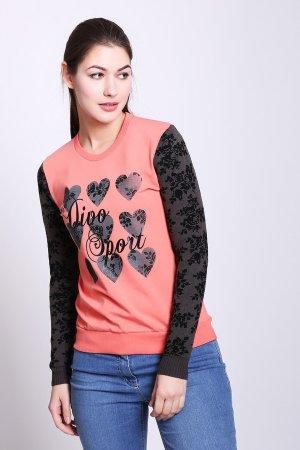 Пуловер D.S.. Цвет: разноцветный