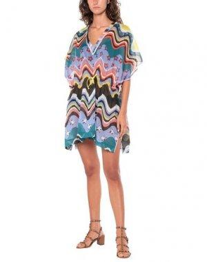 Пляжное платье M MISSONI. Цвет: сиреневый