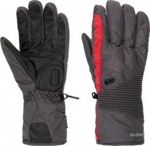 Перчатки мужские , размер 9,5 Glissade. Цвет: серый