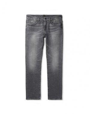 Джинсовые брюки BOSS HUGO. Цвет: черный
