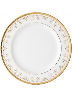 Тарелка Medusa Gala Versace Home. Цвет: белый