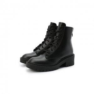 Кожаные ботинки Pike Kenzo. Цвет: чёрный
