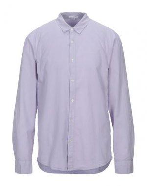 Pубашка JAMES PERSE. Цвет: сиреневый