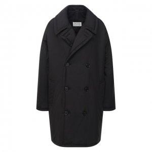 Пальто Maison Margiela. Цвет: чёрный