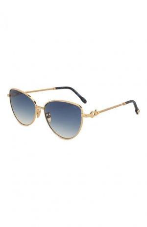 Солнцезащитные очки Fred. Цвет: синий