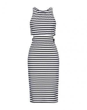 Платье до колена F**K PROJECT. Цвет: черный