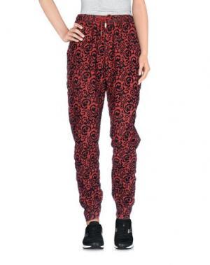 Лыжные брюки JIJIL. Цвет: кирпично-красный