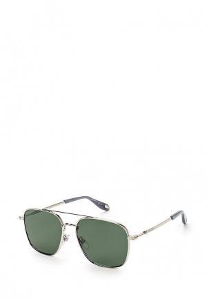 Очки солнцезащитные Givenchy GV 7033/S 010. Цвет: серебряный